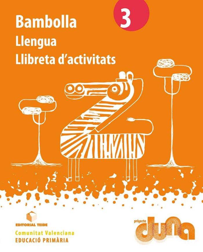 Llibreta llengua bambolla 3ºep valencia 14 duna