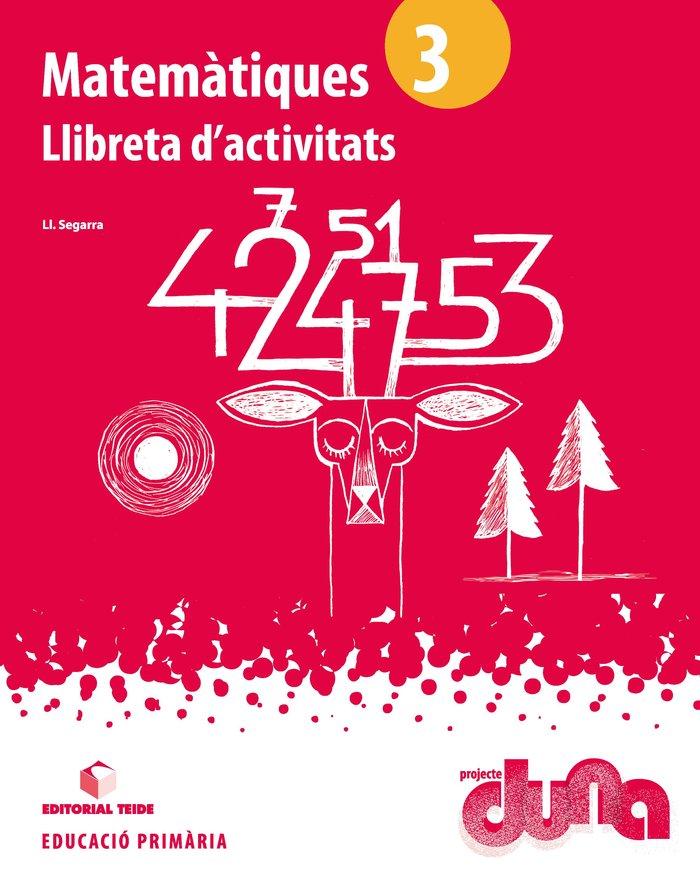 Llibreta matematiques 3ºep cataluña 14 duna
