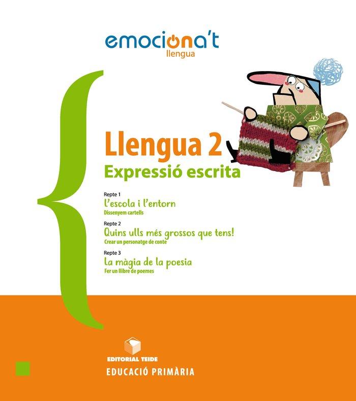 Llengua 2ºep expressio escrita cataluña 19 emocion