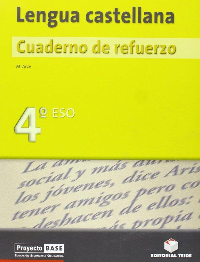 Cuaderno lengua 4ºeso refuerzo proyecto base