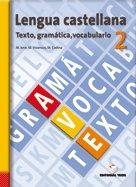 Lengua castellana texto gramatica vocabulario 2 es
