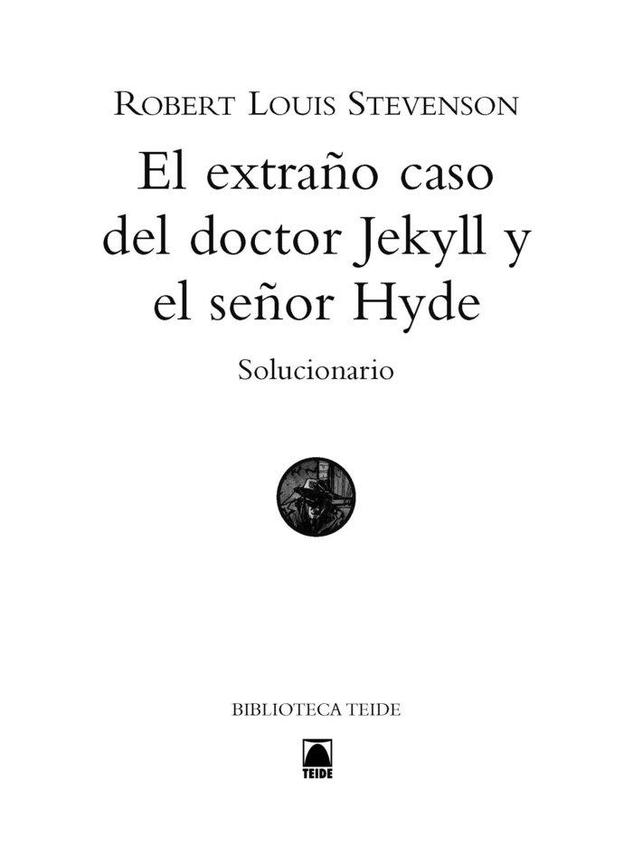 G.d. el extra¿o caso d.jeckyll