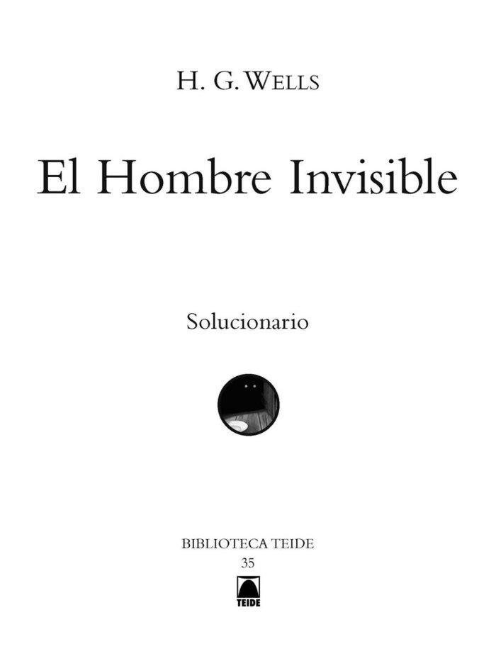 G.d. el hombre invisible