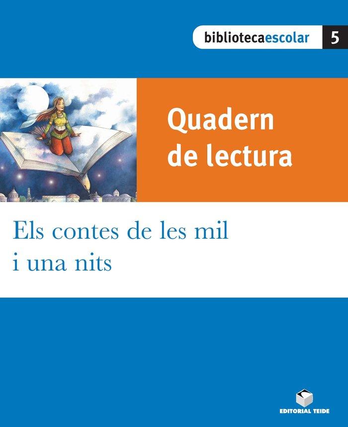Quad.lectura els contes mil una nits 5 bib.basica