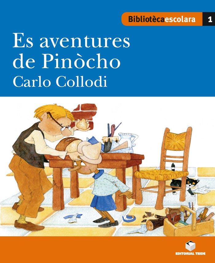 Es aventures de pinocho biblioteca escolar llengua aranes