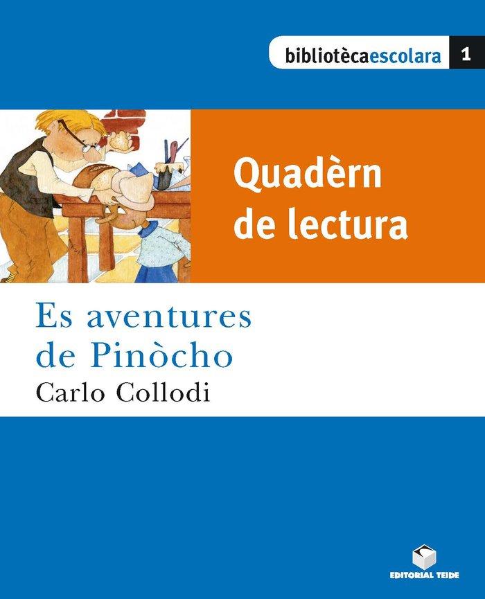 Quadern es aventures de pinocho biblioteca escolar aranes