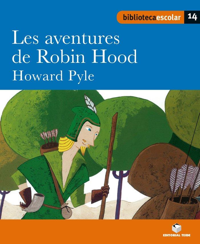 Les aventures de robin hood 14 bib.escolar