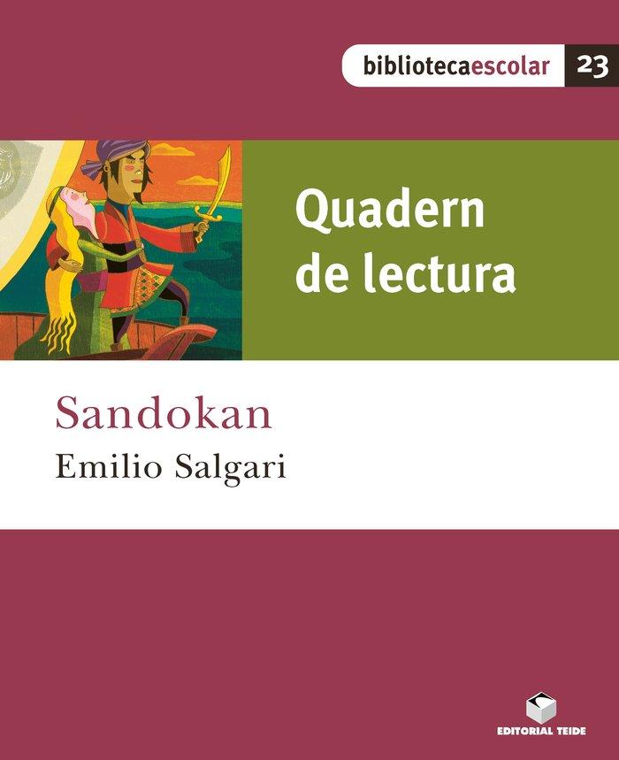 Quad.lectura sandokan 23 bib.escolar