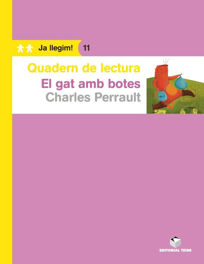 Quad.lectura gat amb botes,el 11 ja llegim