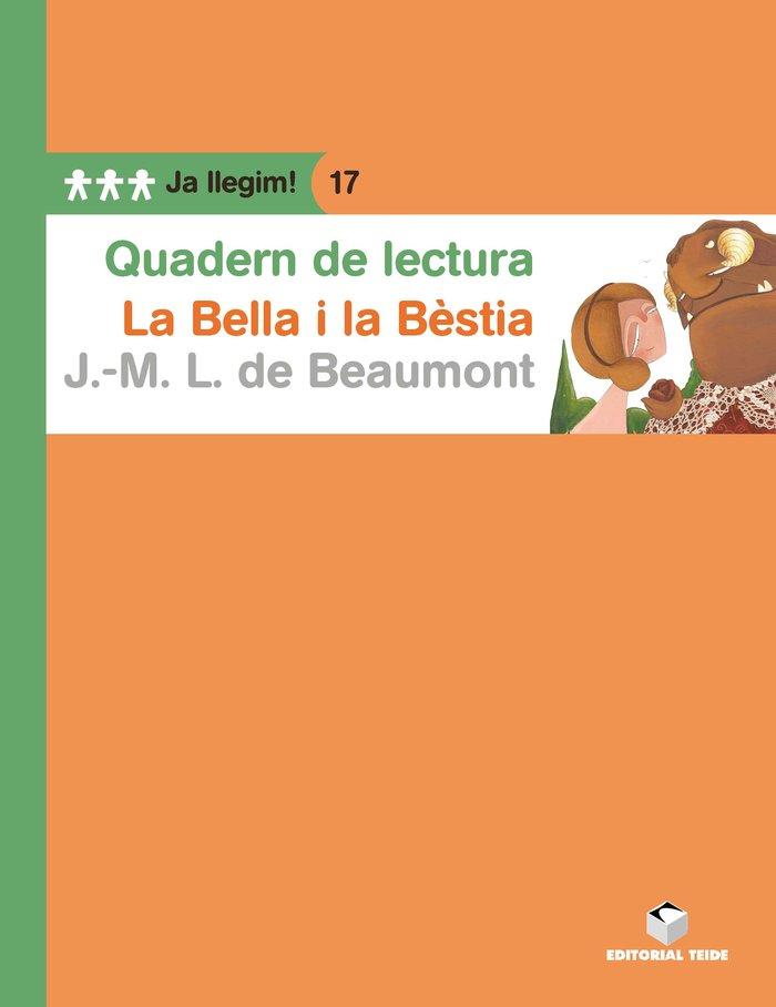 Quad.lectura la bella i la bestia 17 ja llegim
