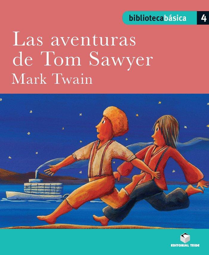 Aventuras de tom sawyer,las 4 bib.basica