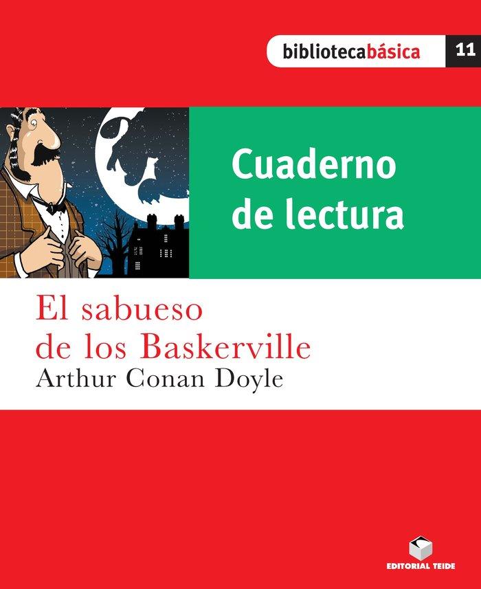 Cuad.lectura sabueso de los baskerville 11 bib.basica