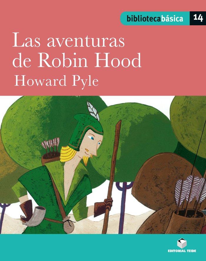 Aventuras de robin hood,las 14 bib.basica