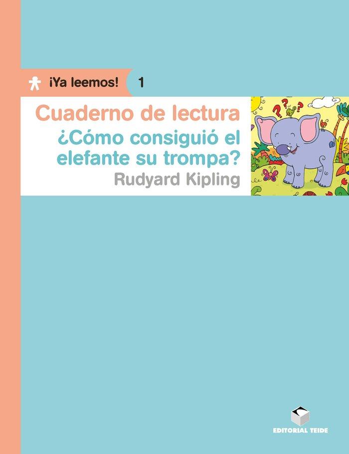 C.lectura como consiguio elefante trompa 1 ya leemos
