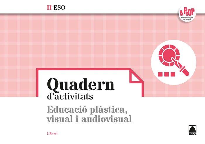 Bloc educacio visual plastica ii eso 20 cataluña a