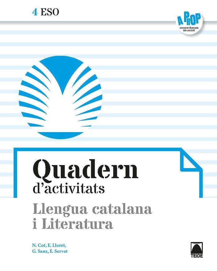 Quadern llengua literatura 4ºeso cataluña 21 a pro