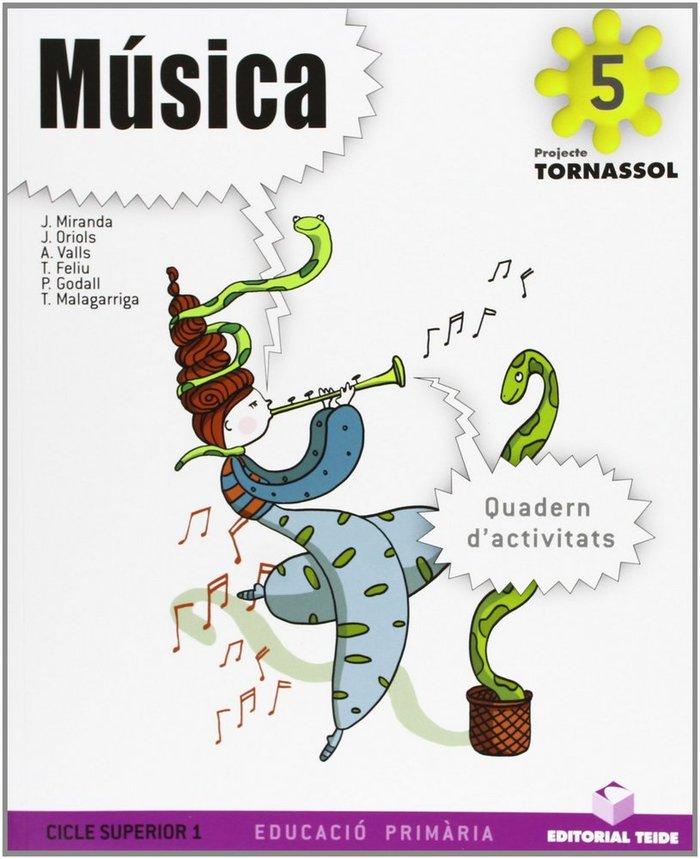 Quadern musica 5ºep cataluña 10 tornassol