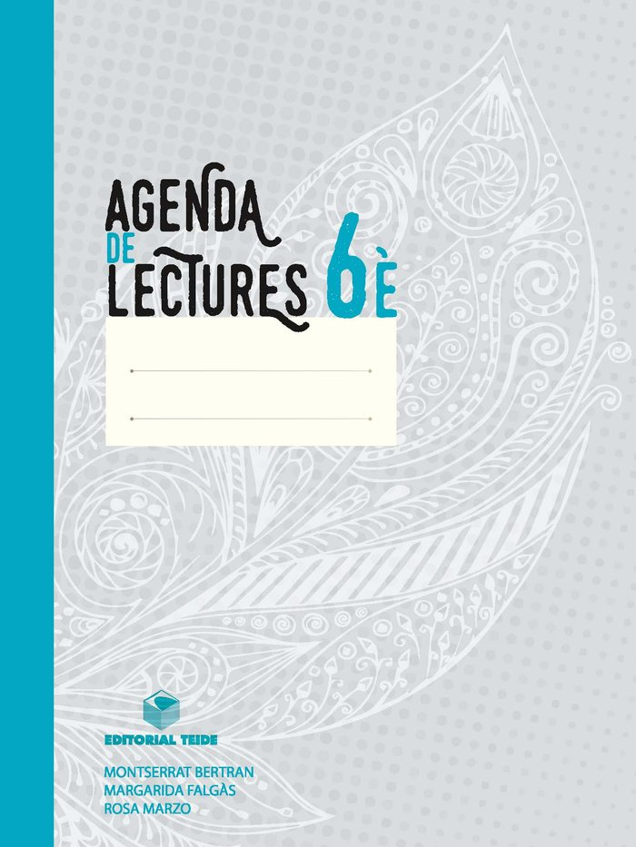 Agenda de lectures 6ºep cataluña 16