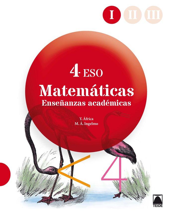 Matematicas academicas 4ºeso trimestres 18