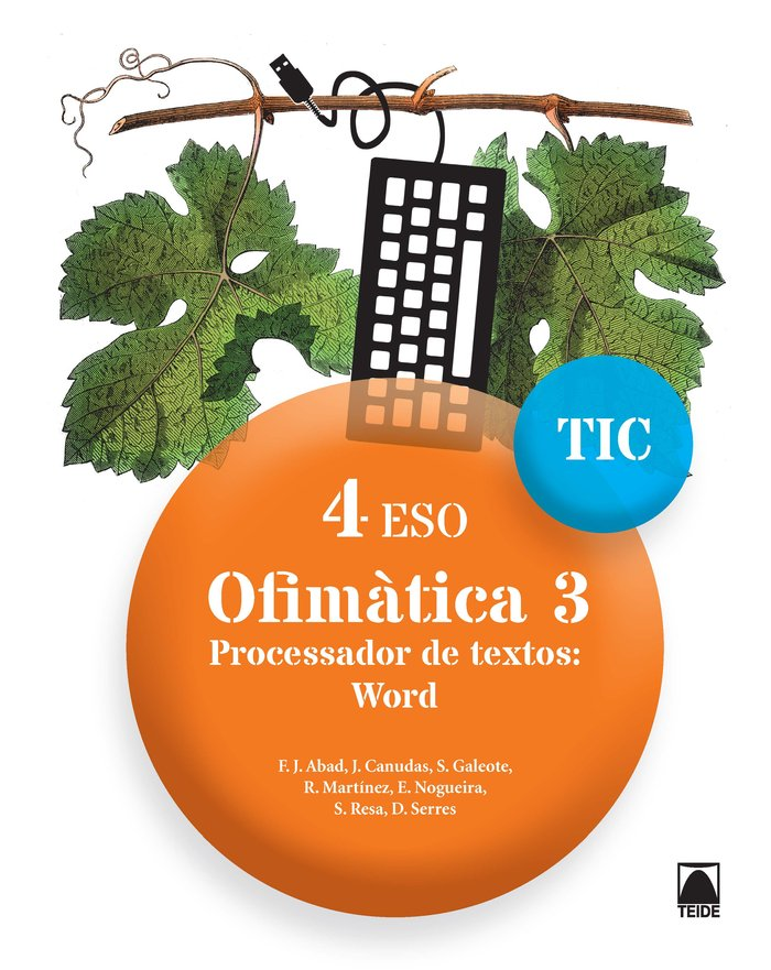 Ofimatica 3 4ºeso cataluña 17 tic