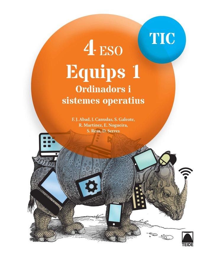 Equips 1 4ºeso cataluña 16 tic