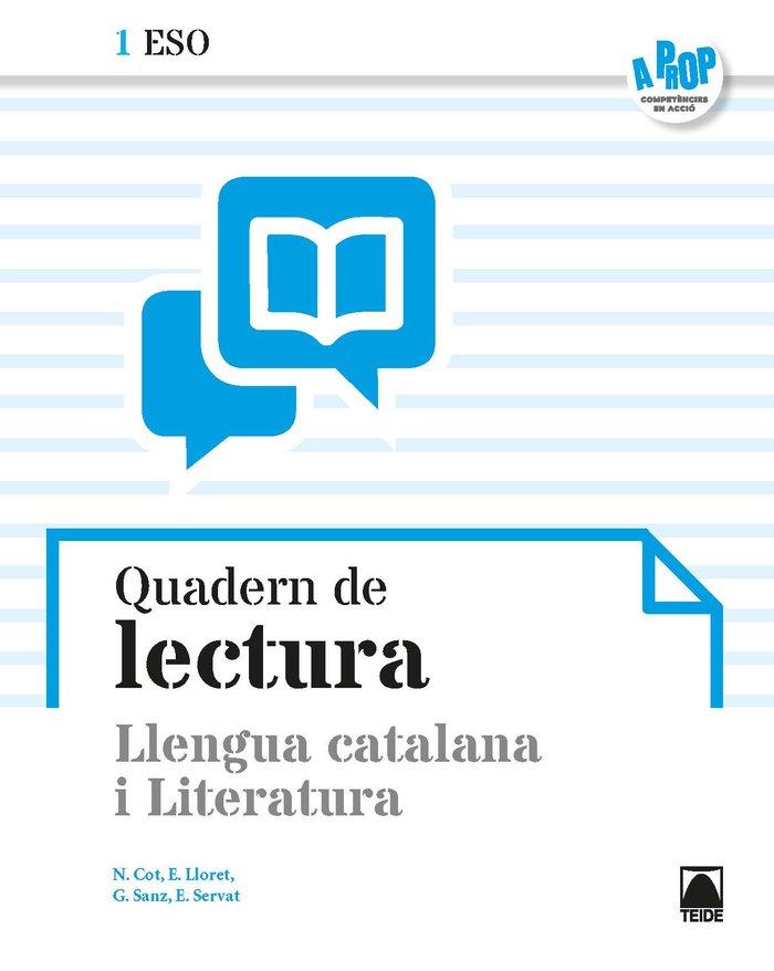 Quadern lectura 1ºeso cataluña 19 a prop