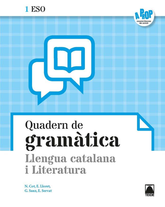 Quadern llengua literatura 1ºeso cataluña 19 a pro