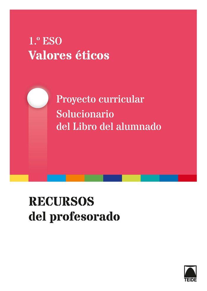 Guia didactica. valores eticos 1º eso