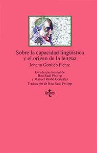 SOBRE LA CAPACIDAD LINGÜISTICA Y EL ORIGEN DE LA LENGUA