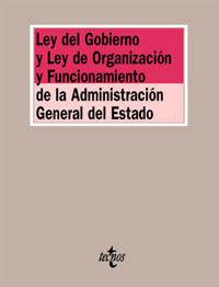 Ley de gobierno y ley de organizacion funcionamiento ad