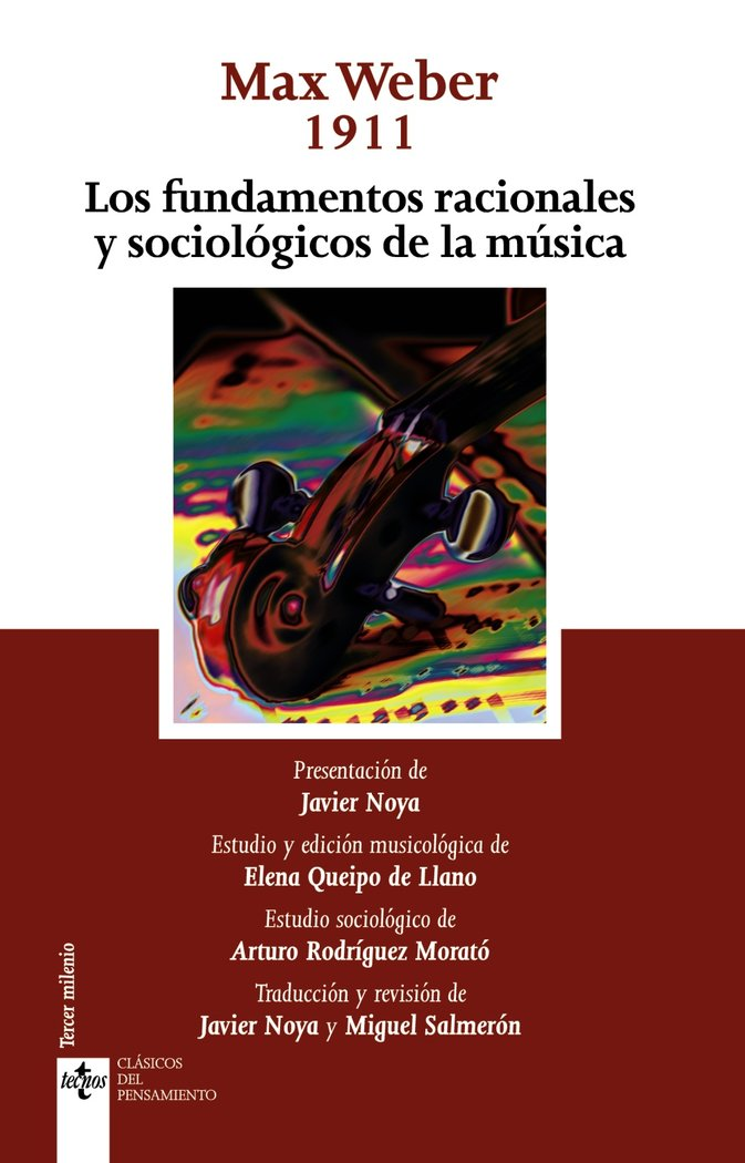Fundamentos racionales y sociologicos de la musica,los