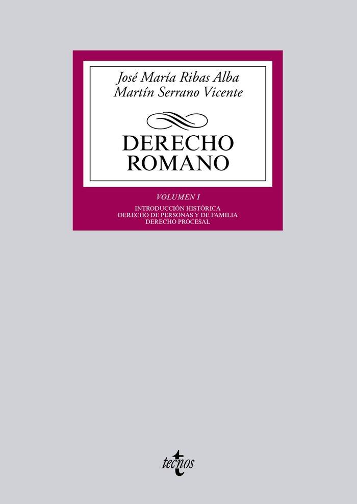 Derecho romano volumen i introduccion historica