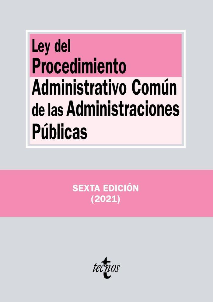 Ley del procedimiento administrativo comun de las administra