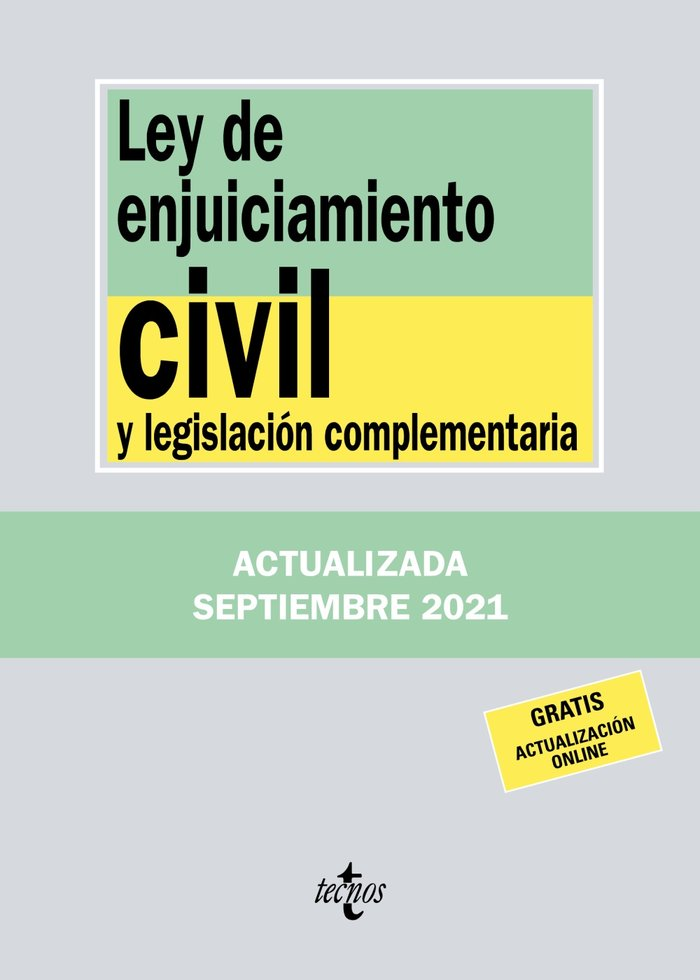 Ley de enjuiciamiento civil y legislacion complementaria 25
