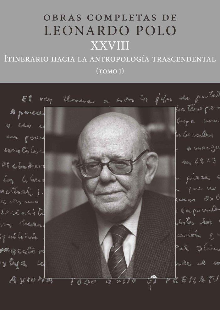 L p xxviii itinerario hacia la antropologia trascendental