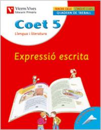 Coet 5. expressio escrita. llengua i literatura