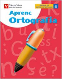 Aprenc ortografia 8 6ºep catalan 06