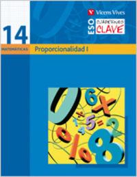Cuaderno clave c-14 proporcionalidad i. matematica