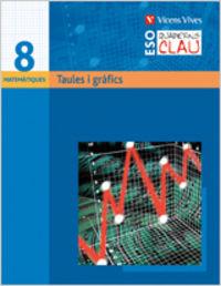 Quadern clau q-8 taules i grafiques. matematiques.