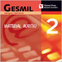 Gesmil 2 cd material auditiu. llengua i literatura