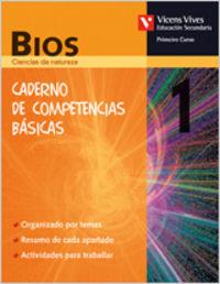 Caderno biologia 1ºeso galicia competencias basica