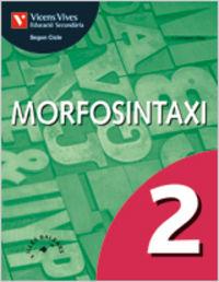 Morfosintaxi 2 balears. llengua i literatura