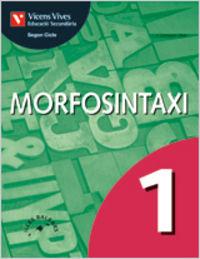Morfosintaxi 1 balears. llengua i literatura