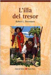 L'illa del tresor. col.leccio aula de lletres. auxiliar