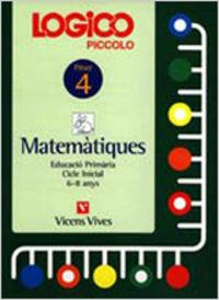 Logico piccolo 4. catalan. matematiques. auxiliar educacio