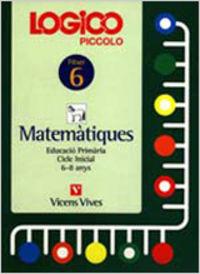 Logico piccolo 6. catala. matematiques. auxiliar educacio