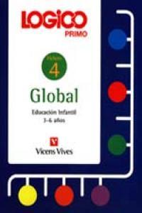 Logico primo global 4 ei 3-6 años