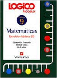 Logico piccolo matematicas 9 ejercicios basicos