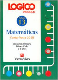 Logico piccolo 13 contar hasta 20 (i)             vicmat12ep