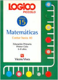Logico piccolo 15 contar hasta 40 ep              vicmat12ep